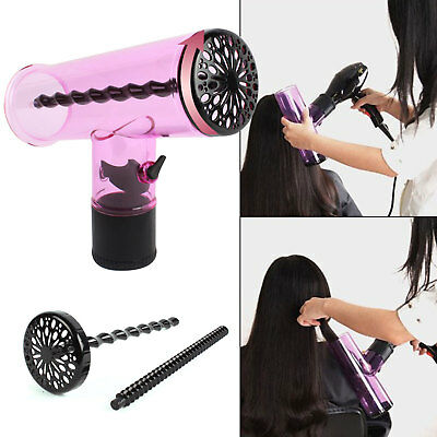 Profession Air Curler Hair dryer Curl Diffuser Spin Roller Cap Best Gift Home