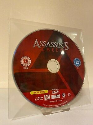 Assassins Creed 3D Blu-ray Disc Only - NEW - NO CASE