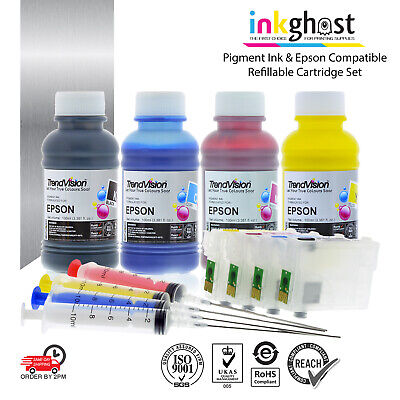 Trend 220 220XL Refill Cartridge + Pigment alternative for Epson XP420 WF2630
