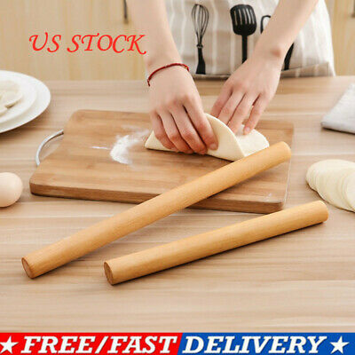 Wooden Rolling Pin Kitchen Non-stick Roller Pastry Dough-Baking Rolling Pin