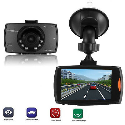 "New 1080P 2.7"" HD LCD Car Dash Camera Video DVR Cam Recorder Night Vision Hot"