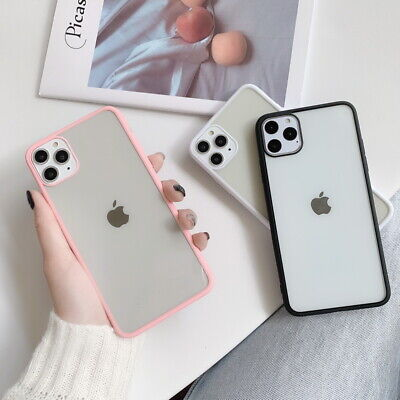 For Apple iPhone 11 Pro Max Xs XR 7 8 6s Ultra Slim Soft Bumper Back Cover Case