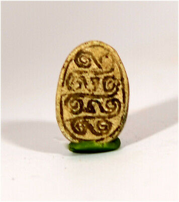 Egypt New Kingdom 18th Dynasty steatite Hyksos scarab