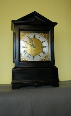 Bracket clock with 8 bells  1 spiral gong