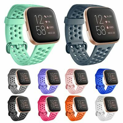 For Fitbit Versa 2 Replacement Strap Silicone Wristband Watch Band Bracelet