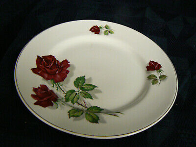 Brexton 8074 Ruby Red Rose 30 Cm Plates Royal Tudor 4 Plates Available