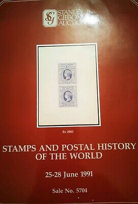 Stanley Gibbons Auctions STAMPS & POSTAL HISTORY OF THE WORLD JUNE 1991