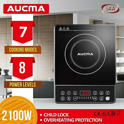 AUCMA Portable Electric Induction Cooktop Cookware Ceramic Glass Top Cooker