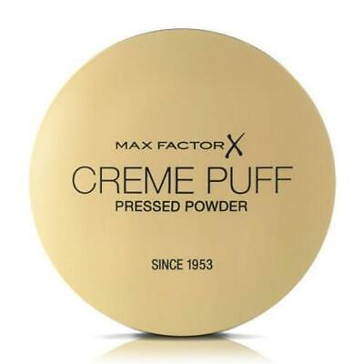 Max Factor Creme Puff Pressed Powder Compact 21g MEDIUM BEIGE   No Puff/Unsealed