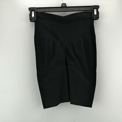 Spanx Power Series Shaping Short Set Very Black L NEW A303964