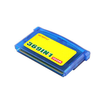 369 in1 GBA Game  Game Card for NDS GBA GBA  GBM NDS NDSL Multicart