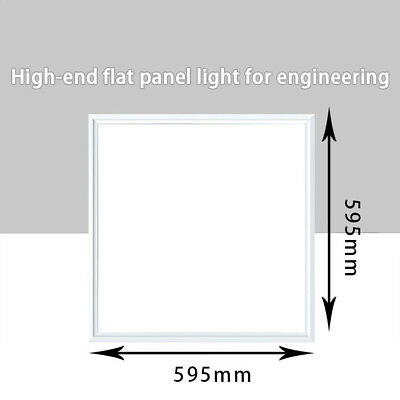 LED Panel Light 600X600 42W Office Ceiling Lamp Suspended Recessed Shop Lighting