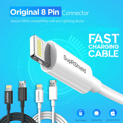Fast Charging Lightning Data Charger Cable Apple iPhone XR XS Max X 7 8 6 S iPad