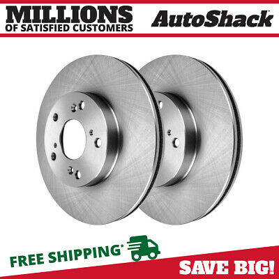 Front Brake Rotor Pair for 2013 2014 Acura ILX 2012 2013 2014 2015 Honda Civic