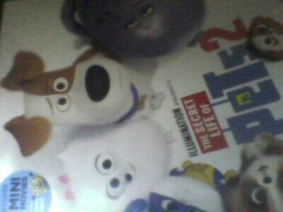 The Secret Life of Pets 2 [DVD] new sealed with slip case free post