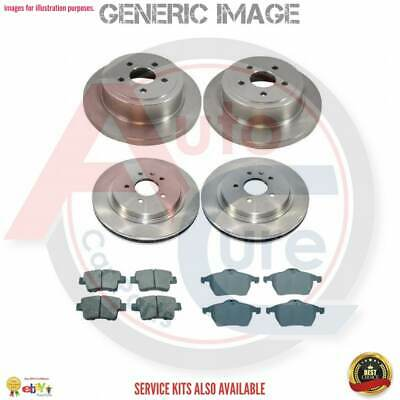 Mercedes M-Class W163 ML270 CDi 331mm Diam Delphi Rear Solid Brake Discs Pair x2