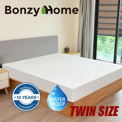 Mattress Cover Protector Twin Size Bed Bamboo Waterproof Deep Fitted Pad