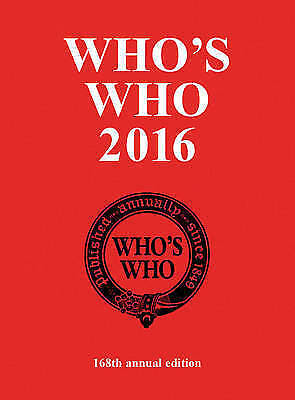 Who's Who 2016 by Who's Who