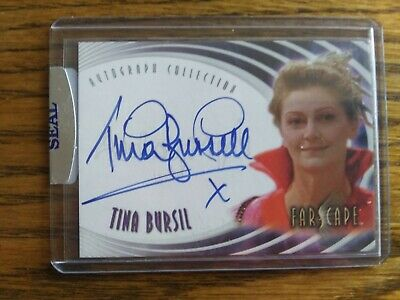 Farscape Autograph Card Tina Bursil as Empress Novia