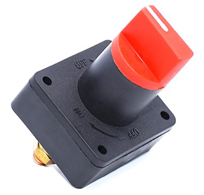 Cllena Rotary Battery Disconnect Isolator Power Kill Cut OFF Switch 300A for ...