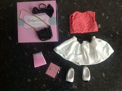 Design A Friend Outfit Clothes with Handbag For Chad Valley Designafriend Doll