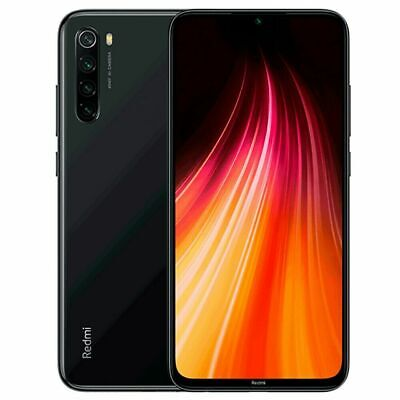 "Xiaomi Redmi Note 8 4GB 64GB space black 6.3""Smartphone Versione Globale BANDA20"