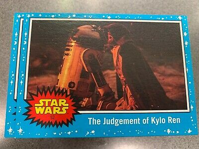 2019 Star Wars Journey To The Rise Of Skywalker Complete Base Set (110 Cards)