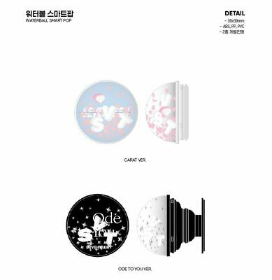 Seventeen 2019 World Tour Ode To You Official Goods Waterball Phone Holder New