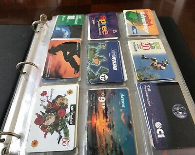 Lot of 183 used phone cards All Sports Coke McDonalds Stores In binder