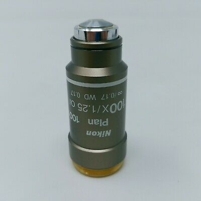 Nikon Microscope Objective Plan 100x / 1.25 Oil