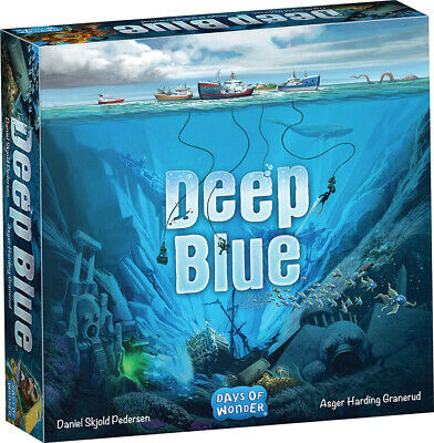 Deep Blue Board Game Factory Sealed Brand New DOW Days of Wonder