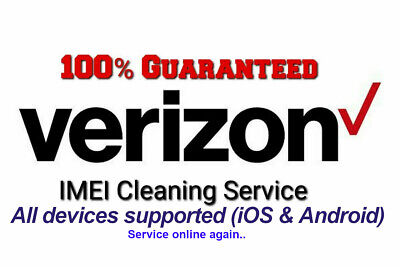 Verizon IMEI ESN Clean Unbarring Service Good Success Rate | Lowest on eBay |