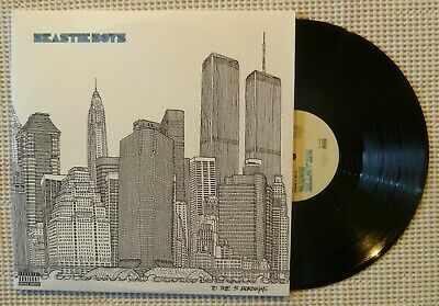BEASTIE BOYS To The 5 Boroughs Orig '04 CAPITOL 2LP Textured Cover Sterling NM-