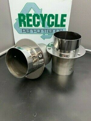 Stainless Steel Marine Exhaust Tips Boat Exhaust Outlet Mercruiser Offshore