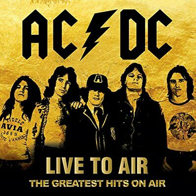 AC/DC-LIIVE TO AIR - THE GREATEST HITS ON AIR-IMPORT 2 CD WITH OBI F83 New F/S