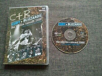 DVD CUBY + BLIZZARDS - The jubilee concert 2000 - amsterdam - live at paradiso