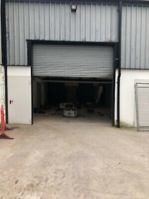 Single Phase roller shutter door 4.5M X 4M,with runners and motor