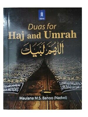 Duas For Hajj and Umrah book ( Pocket size )