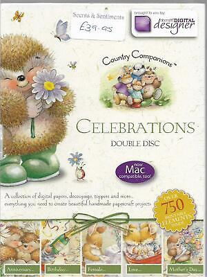 Country Companions Celebrations Double Disc CD-Rom