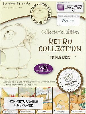 Forever Friends Collector's Edition RETRO COLLECTION Triple Disc CD-Rom