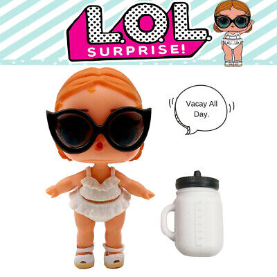 LOL Surprise Doll Confetti Big Sister VACAY BABAY Color Change Series 3-026 Toys