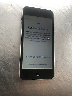 Apple iPod touch 5th Generation Silver/Black (16 GB) New Battery Nice Cond