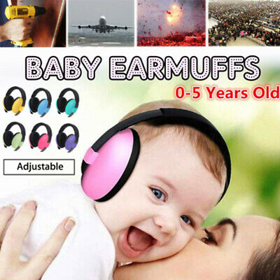 Comfort Child Hearing Protection Noise Reduction Safety Earmuffs  Baby Earmuffs