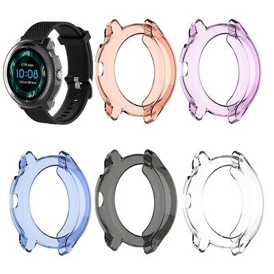 for Garmin Vivoactive 3 Music Transparent TPU Watch Cover Protective Case