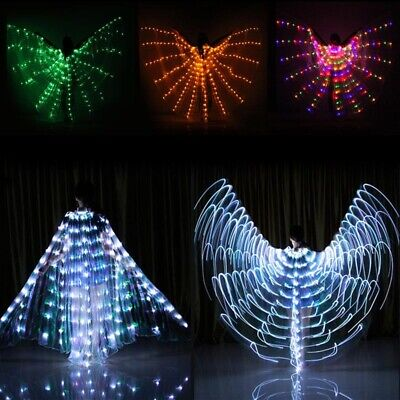 Dance LED Wings Light Up Halloween Costumes Stage Performance Clothing