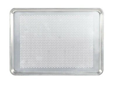 Sheet Pan Half Size Perforated Aluminum Crisper Crusts and Evenly Baked Rolls