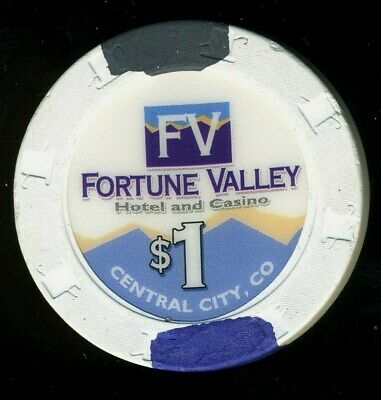 $1.00 * Fortune Valley Hotel Casino * Central City, Colorado.