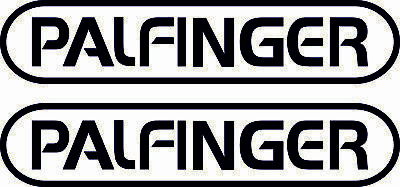 PALFINGER DECALS stickers crane / hiab