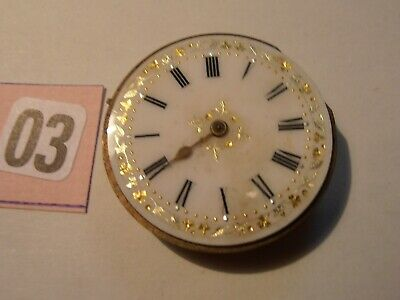 Pocket Watch Dial With Movement