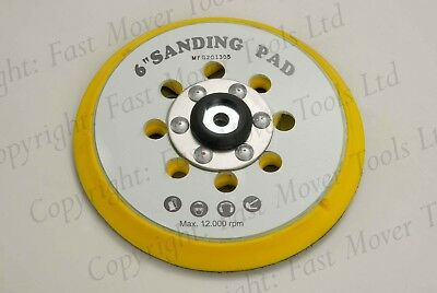 FESTOOL ORBITAL DA SANDER BACKING PAD 150mm 6inch SANDING DISC HOOK LOOP M8 5/16